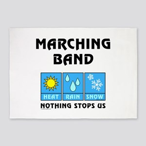 Marching Band Weather 5'x7'Area Rug