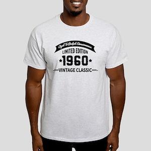 Birthday Born 1960 Aged To Perfectio Light T-Shirt