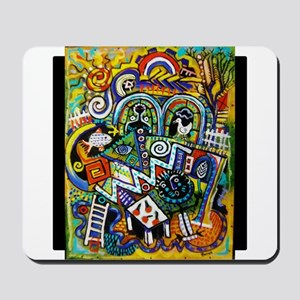 Masterpiece Abstract Painting Mousepad