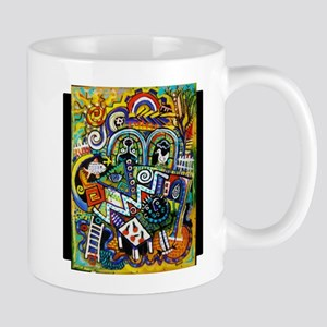 Masterpiece Abstract Painting Mugs
