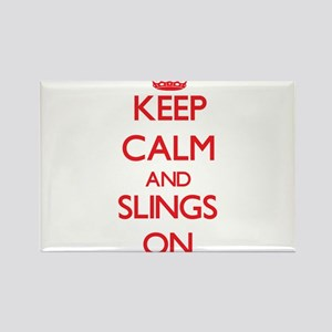 Keep Calm and Slings ON Magnets