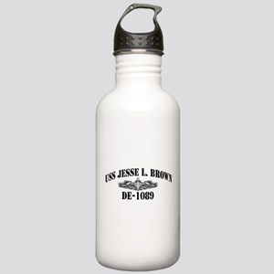 USS JESSE L. BROWN Stainless Water Bottle 1.0L