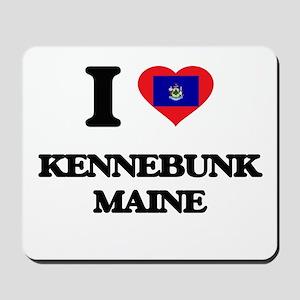 I love Kennebunk Maine Mousepad