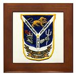 USS JESSE L. BROWN Framed Tile