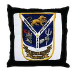 USS JESSE L. BROWN Throw Pillow