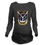USS JESSE L. BROWN Long Sleeve Maternity T-Shirt