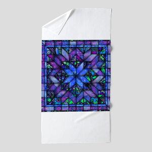 Blue Quilt Beach Towel