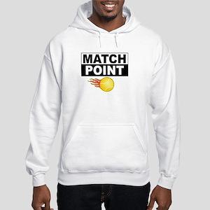 Game Set Match Tennis Hooded Sweatshirt