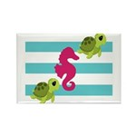 Sea Turtles Seahorse Magnets