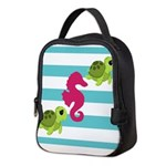 Sea Turtles Seahorse Neoprene Lunch Bag