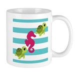 Sea Turtles Seahorse Mugs