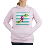 Sea Turtles Seahorse Women's Hooded Sweatshirt