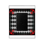 Red Black Seahorse Nautical Picture Frame