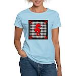 Red Black Seahorse Nautical T-Shirt
