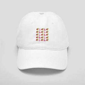 Pink Nautical Pattern Baseball Cap 97d9446f34a2