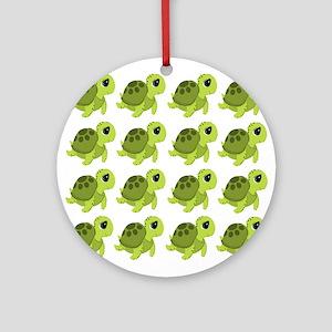 Sea Turtles Ornament (Round)