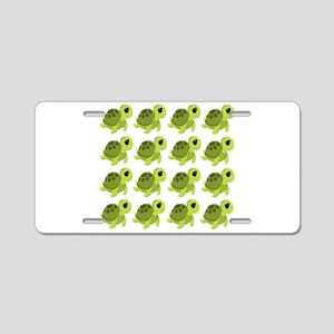 Sea Turtles Aluminum License Plate