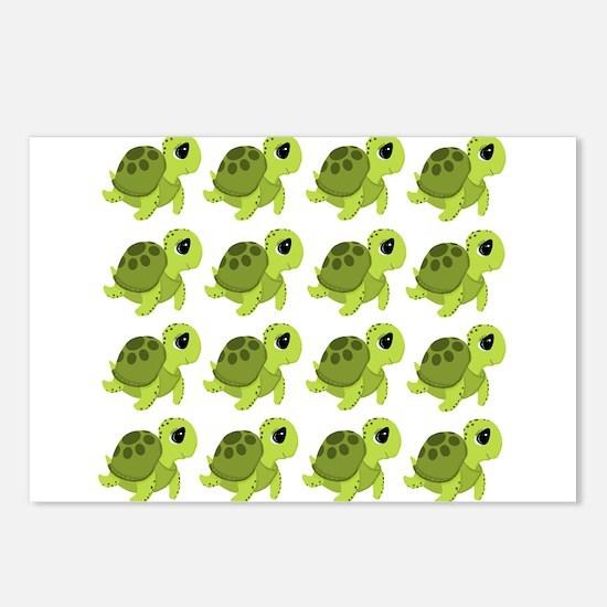 Sea Turtles Postcards (Package of 8)
