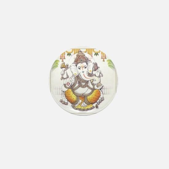 Ganesh Mini Button