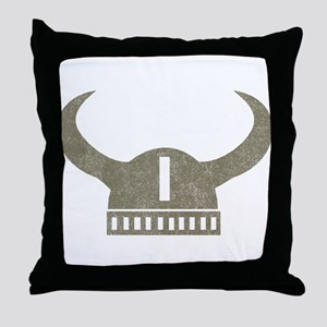 Vintage Viking Throw Pillow