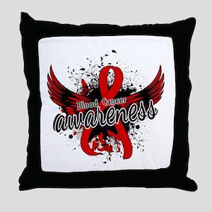 Blood Cancer Awareness 16 Throw Pillow