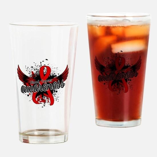 Blood Cancer Awareness 16 Drinking Glass