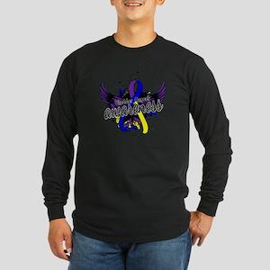 Bladder Cancer Awareness Long Sleeve Dark T-Shirt