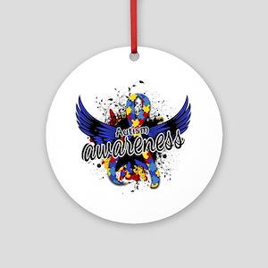 Autism Awareness 16 Ornament (Round)