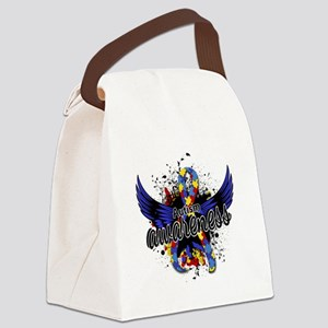 Autism Awareness 16 Canvas Lunch Bag