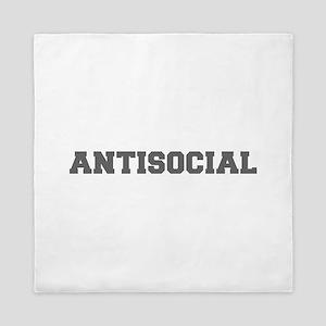 Antisocial-Fre gray 600 Queen Duvet