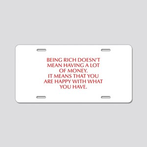 Being rich doesn t mean having a lot of money It m
