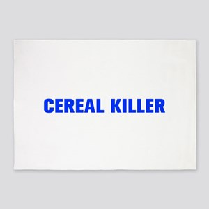 Cereal Killer-Akz blue 500 5'x7'Area Rug