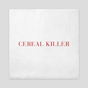 Cereal Killer-Bau red 500 Queen Duvet