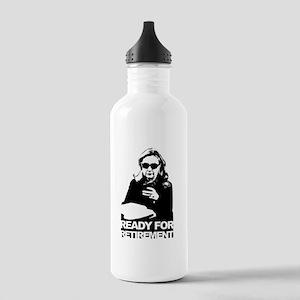Clinton: Ready for Retirement Water Bottle