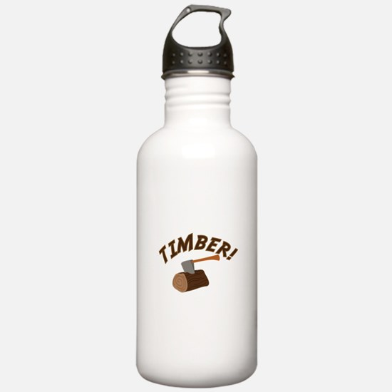 Timber! Water Bottle