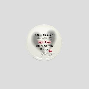 Sylvia Plath Quote Mini Button