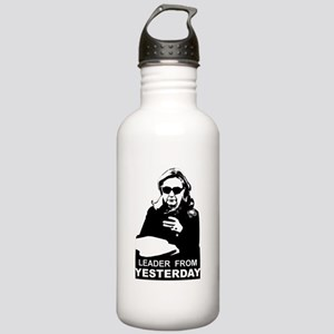 Clinton: Leader from Yesterday Water Bottle