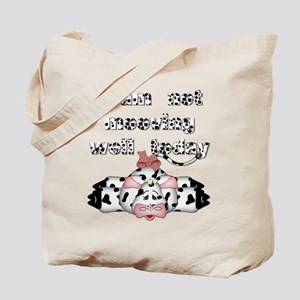 I am not mooving well today Tote Bag
