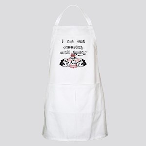 I am not mooving well today BBQ Apron