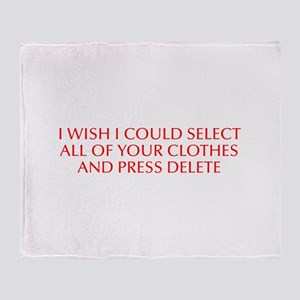 I wish I could select all of your clothes and pres