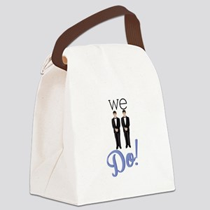 We Do! Canvas Lunch Bag