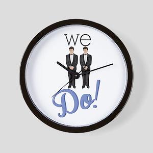 We Do! Wall Clock