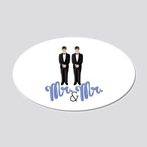 Mr.& Mr. Wall Decal