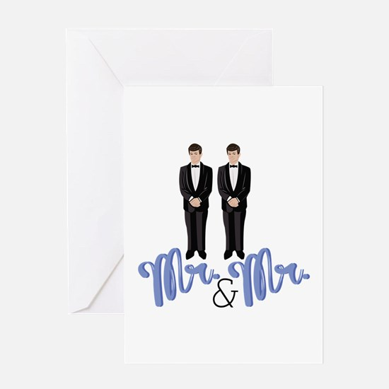 Mr.& Mr. Greeting Cards