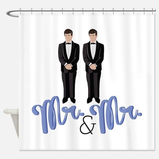 Mr.& Mr. Shower Curtain
