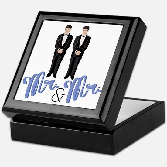 Mr.& Mr. Keepsake Box