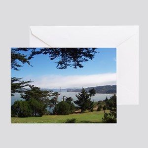 GG Bridge from Lands End Photo Card