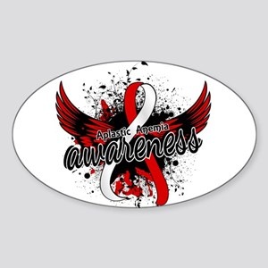 Aplastic Anemia Awareness 16 Sticker (Oval)