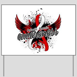 Aplastic Anemia Awareness 16 Yard Sign