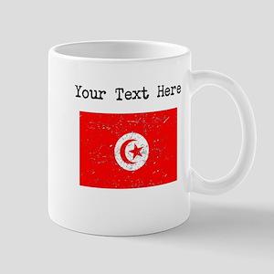 Tunisia Flag Mugs
